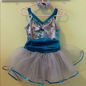 Toddler girl ballet costume